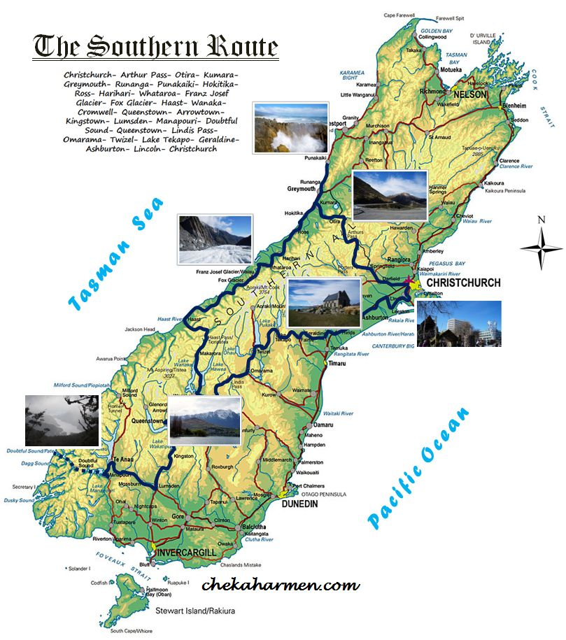 Pictorial: The Southern Route