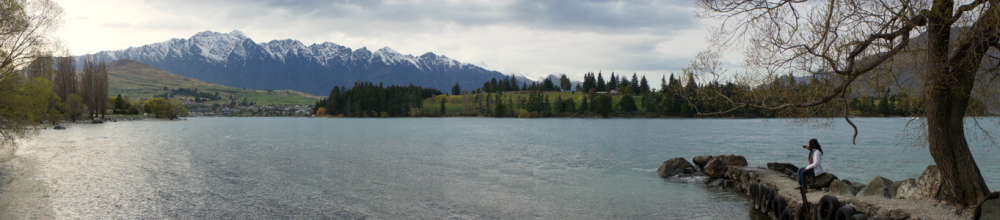 The Remarkables over Lake Wakatipu