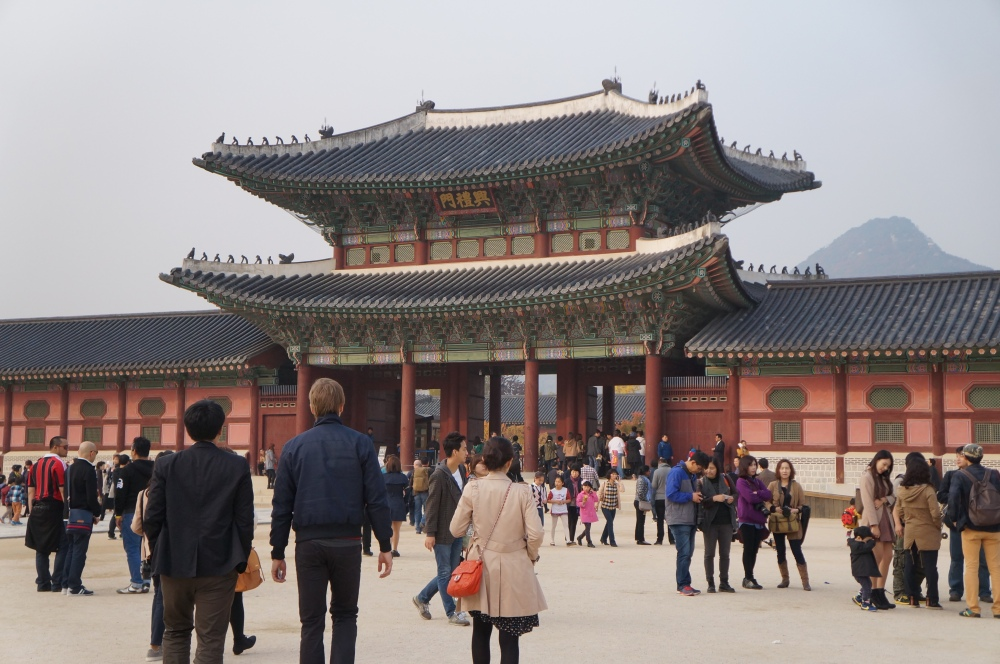 Gyeongbokgung Palace, a landmark worth visiting whilst in Seoul.