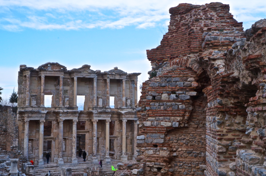 Visiting Ephesus in the beautiful city of present day Selçuk